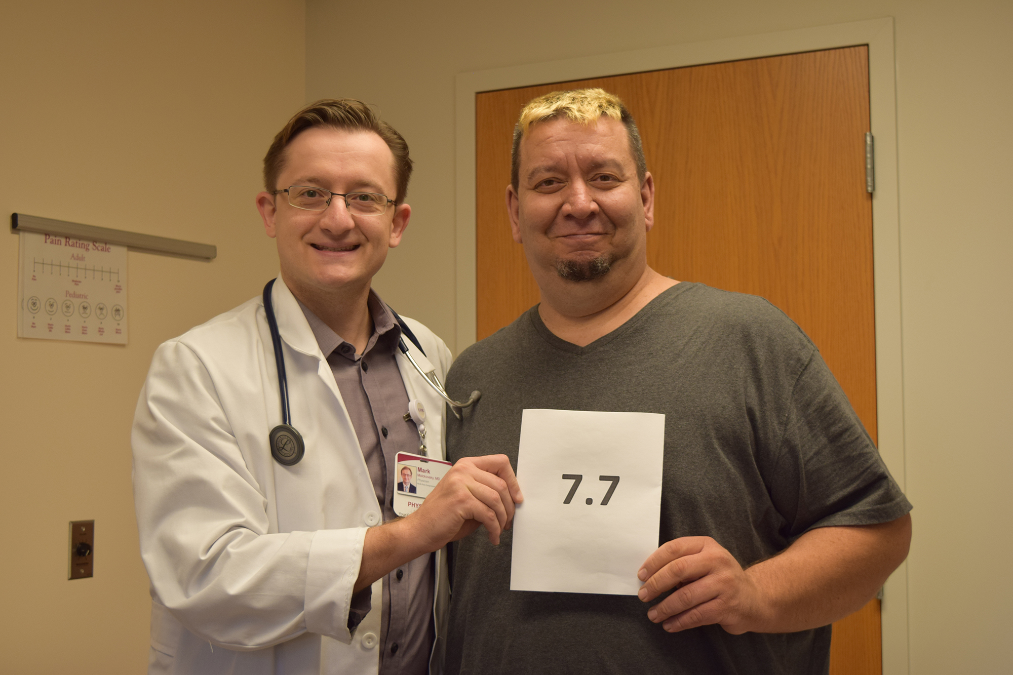 Dr. Mark Molckovsky & Diabetic Patient Earle Aumick